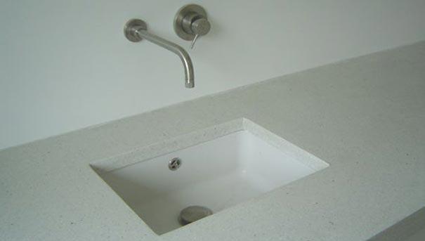 Terrazzo vloer badkamer van der zande terrazzo en mozaiek projecten portfolio best - Grijze verf leisteen ...